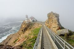 Point Reyes Lighthouse Royalty Free Stock Photo