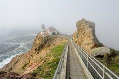 Point Reyes Lighthouse Royalty Free Stock Photo