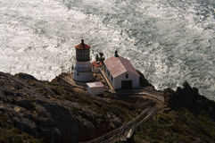 Point Reyes Lighthouse. LIghthouse at Pt. Reyes National Seashore, California Royalty Free Stock Photos