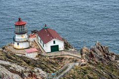 Point Reyes Lighthouse in California Stock Image