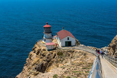 Point Reyes Lighthouse, California Royalty Free Stock Photos