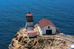 Point Reyes Lighthouse, California royalty free stock image