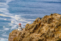 Point Reyes Lighthouse at Pacific coast, built in 1870 Royalty Free Stock Photography
