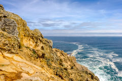 Point Reyes Lighthouse at Pacific coast, built in 1870 Royalty Free Stock Images