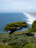 Point Reyes Lighthouse view Royalty Free Stock Photography