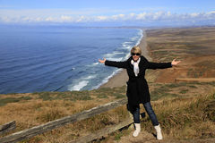 Point Reyes National Seashore in California Stock Photo