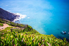 Point reyes national seashore landscapes in california royalty free stock images