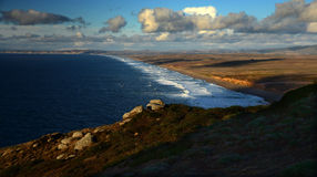 Point Reyes Sunset in Arresting Sunset Stock Image