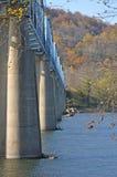Point of Rocks Bridge stock photo