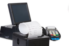 Point of Sale System royalty free stock photos