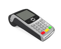 Point of Sale Terminal Stock Photo