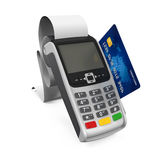 Point of Sale Terminal Royalty Free Stock Photos