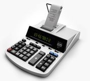 Point of sale terminal or POS Royalty Free Stock Images