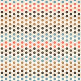 Point seamless pattern Royalty Free Stock Photography