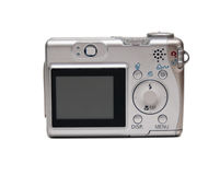 Point and shoot camera Stock Images