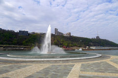 Point State Park. In Pittsburgh Pennsylvania royalty free stock photo