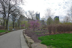 Point State Park. In Pittsburgh Pennsylvania royalty free stock photos