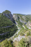 Point Sublime. In the Gorges du Verdon, Provence, France, Europe Royalty Free Stock Photography