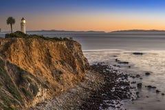 Point sur l'océan pacifique Images stock