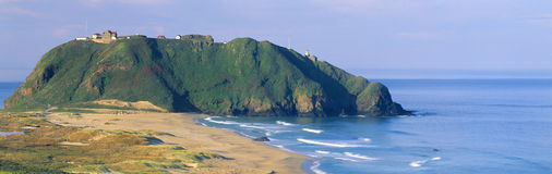 Point Sur Lighthouse at Big Sur, California Royalty Free Stock Images