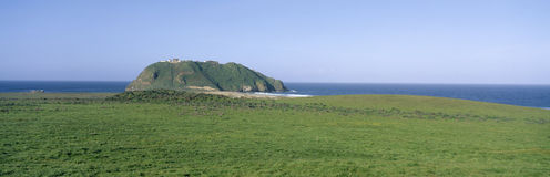 Point Sur Lighthouse at Big Sur, California Royalty Free Stock Photo