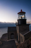 Point Sur Lighthouse in Big Sur, California Royalty Free Stock Images