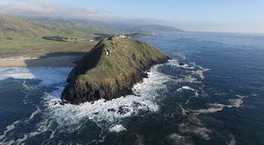 Point Sur lighthouse. Stock Photography