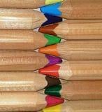 Colour Pencils. Children's color pencils Stock Photography