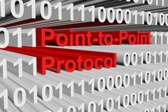 Point-to-Point Protocol Fotografia de Stock Royalty Free