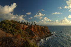 Point Vicente Lighthouse Stock Photography
