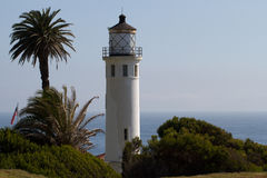 Point Vicente Lighthouse Royalty Free Stock Photography