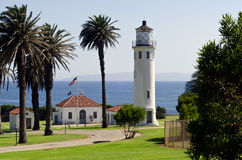 Point Vicente Lighthouse Royalty Free Stock Image