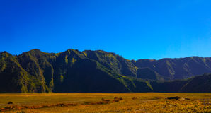 Point of view, Bromo, Indonesia Stock Photography