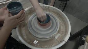 Point of View en la pintura de la cerámica metrajes