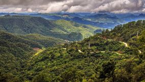 Point of view Kiew-Lom Maehongson Stock Image