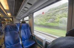 Point of view of a passenger Royalty Free Stock Image
