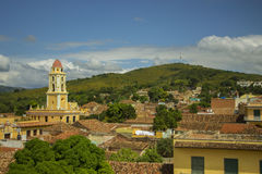 POINT VIEW FROM TRINIDAD cuba. STREETS Royalty Free Stock Images