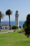 Point Vincent Lighthouse. In Palos Verdes California Royalty Free Stock Images
