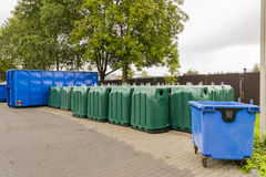 Point of waste segregation Stock Photography