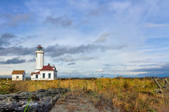 Point Wildon lighthouse Royalty Free Stock Photos