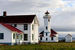 Point Wilson Lighthouse Stock Images