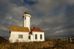 Point Wilson Lighthouse Royalty Free Stock Photography