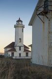 Point Wilson Lighthouse Royalty Free Stock Photo