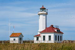 Point Wilson Lighthouse. In Washington state Royalty Free Stock Image