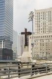 Point zéro 2005 - croix Image libre de droits