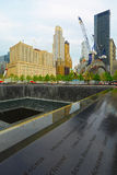 Point zéro, New York City, Etats-Unis Photo stock