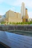 Point zéro, New York City, Etats-Unis Image libre de droits