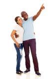 Pointage africain de couples Image libre de droits