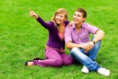 Pointage de couples photo stock