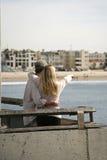 Pointage de couples Photos stock